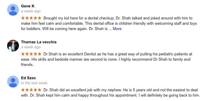 Google-reviews-pediatric-dentist-pa